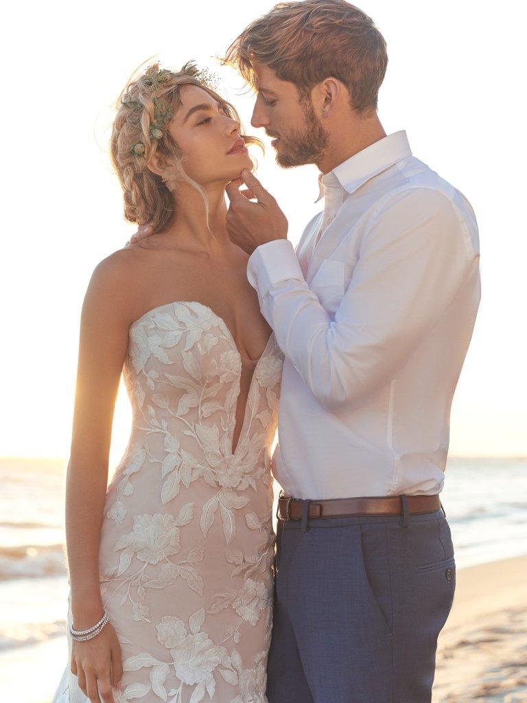 Rebecca Ingram HATTIE LYNETTE Wedding Dress | The Knot
