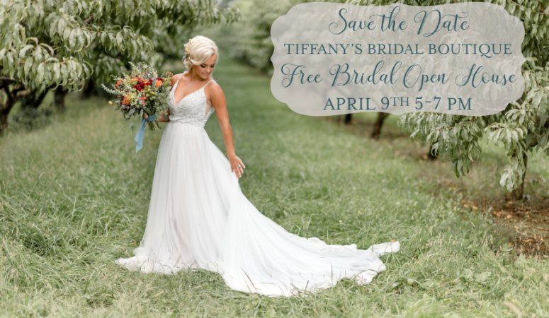 54e54fa30a3 Free Spring Bridal Open House on 4 9 19 from 5-7 p.m.