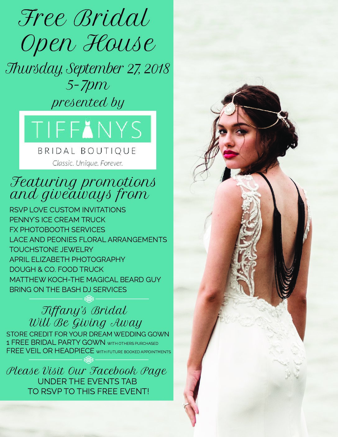 Free Fall Bridal Open House